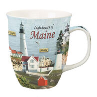 Cape Shore Lighthouses of Maine Harbor Mug