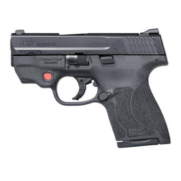 Smith & Wesson M&P40 Shield M2.0 Int. Crimson Trace Red Laser NTS 40 S&W 3.1 6-Round Pistol