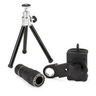Carson HookUpz Smartphone Telephoto Lens Adapter w/ Tripod