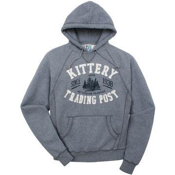 Lakeshirts Mens Blue 84 KTP Gestalt Hooded Sweatshirt