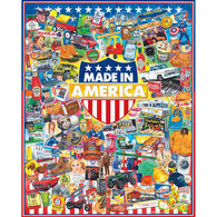 White Mountain Jigsaw Puzzle - Made in America
