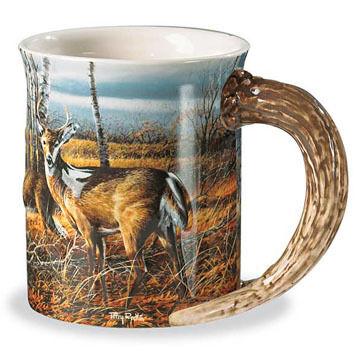 Wild Wings Birch Line Deer Mug