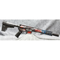 "Black Rain Ordnance Spec15 American Flag 5.56mm NATO 10.5"" 30-Round Pistol"