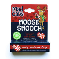 Mad Gab's Candy Cane Holiday Moose Smooch Lip Balm