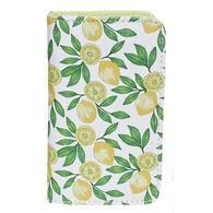 Buxton Women's Lovely Lemon - RFID Snap Card Case