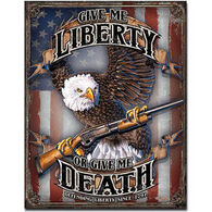 Desperate Enterprises Give Me Liberty Tin Sign