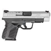"Springfield XD-S Single Stack Bi-Tone 45 ACP 3.3"" 5-Round Pistol"