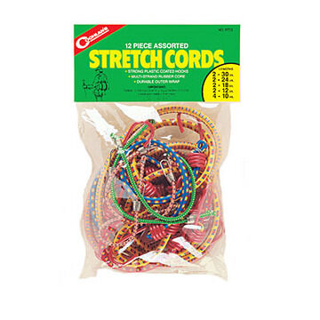 Coghlans Assorted Stretch Cord Pack - 12 Pk.