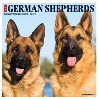 Willow Creek Press Just German Shepherds 2022 Wall Calendar