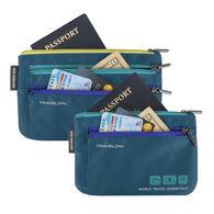 Travelon World Travel Currency & Passport Organizer Set