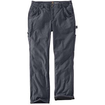 Carhartt Womens Original-Fit Fleece-Lined Crawford Pant