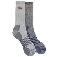 Carhartt Men's Wool Blend Crew Sock, 4/pk