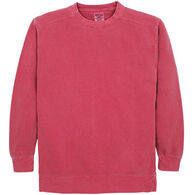 Alpha Men's Pigment-Dyed Crew Neck Sweatshirt