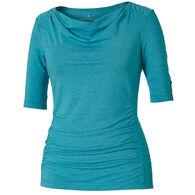 Royal Robbins Women's Cowl Neck Short-Sleeve Shirt
