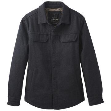 prAna Mens Wooley Shirt Jac