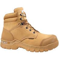 """Carhartt Men's Rugged Flex 6"""" Waterproof Nubuck Composite Toe Work Boot"""