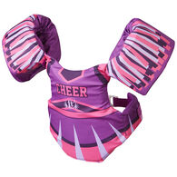 Full Throttle Children's Little Dippers Cheerleader PFD