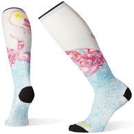 Smartwool Women's PhD Ski Ultra Light Rhythm Of Time Print Sock