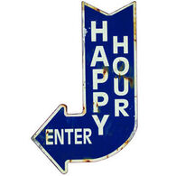 Upper Deck Happy Hour Sign