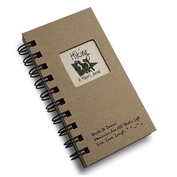 "Journals Unlimited ""Write it Down!"" Mini Size Hiking Journal"