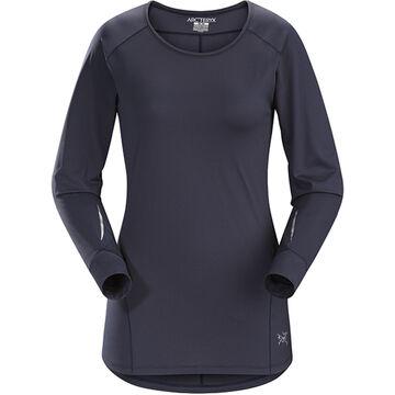 Arcteryx Womens Motus Crew Neck Long-Sleeve Shirt