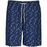 Snapper Rock Swimwear Boy's Blue Swell Boardies