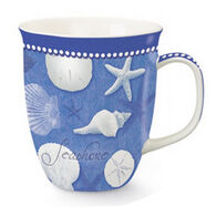 Cape Shore Maine Blue Water Shells Mug