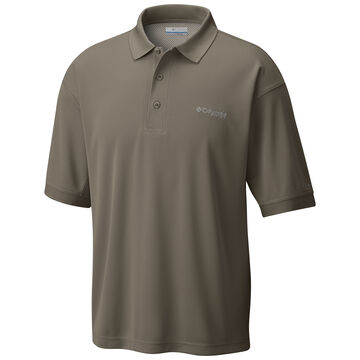 Columbia Mens PFG Perfect Cast Polo Short-Sleeve Shirt