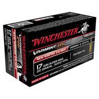 Winchester Varmint HV 17 WSM 20 Grain Polymer Tip Ammo (50)