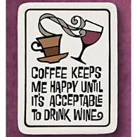 """Spooner Creek """"Coffee Makes Me"""" Magnet"""