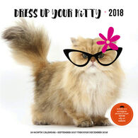Dress Up Your Kitty 2018 Wall Calendar by Editors of Rock Point