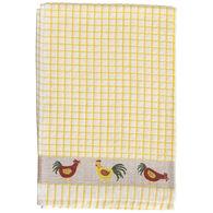 Samuel Lamont and Sons Poli-Dri Chicken Jacquard Tea Towel