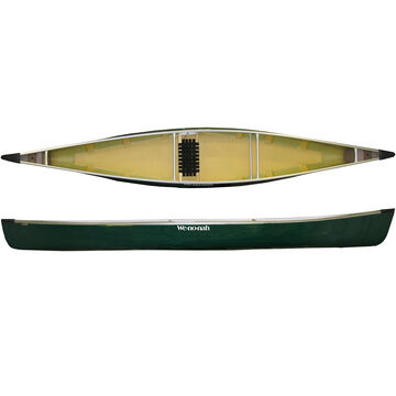 We-No-Nah Wilderness Tuf-weave Solo Canoe