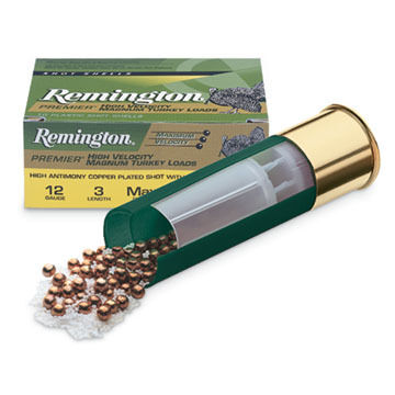 "Remington Premier High Velocity Magnum 12 GA 3"" 1-3/4 oz. #4 Shotshell Ammo (10)"