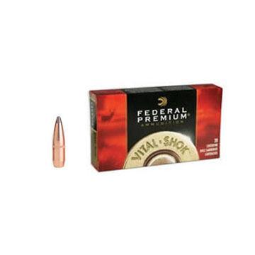 Federal Premium Vital-Shok 243 Winchester (6.16x51mm) 100 Grain Sierra GameKing BTSP Rifle Ammo (20)