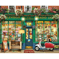 White Mountain Jigsaw Puzzle - Electronics Store