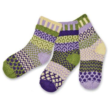 Solmate Socks Boys & Girls Caterpillar Sock, 3/pc