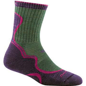 Darn Tough Vermont Womens Light Hiker Micro Crew Cushion Sock