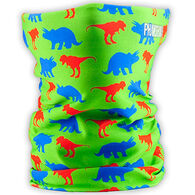 Phunkshun Wear Boys' & Girls' Dino Double Layer Thermal Facemask