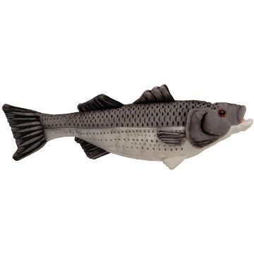 "Cabin Critters 17"" Plush Striped Bass"