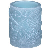 DecoFLAIR Ivory Seascape LED Candle