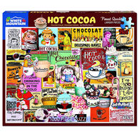 White Mountain Jigsaw Puzzle - Hot Cocoa
