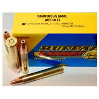 Buffalo Bore Dangerous Game 458 Lott 450 Grain Barnes TSX Rifle Ammo (20)