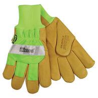 Kinco Men's Pigskin Waterproof High Visibility Glove
