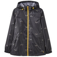 Joules Women's Golightly Short Waterproof Packaway Jacket