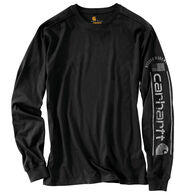 Carhartt Men's Relaxed Fit Midweight Logo Graphic Long-Sleeve T-Shirt