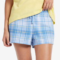 Life is Good Women's Plaid Sleep Short