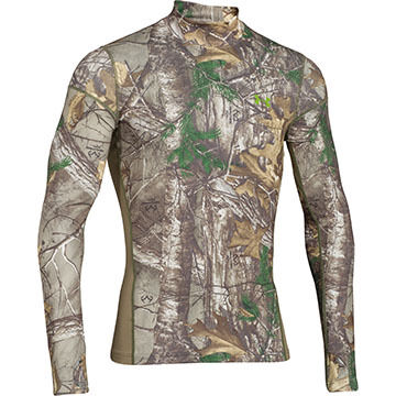 Under Armour Mens ColdGear Infrared Long-Sleeve Shirt