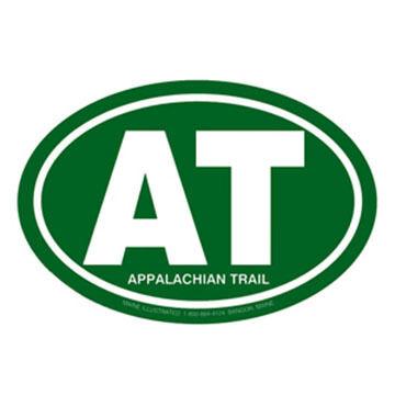 Appalachian Trail Oval Magnet
