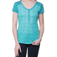 Kuhl Women's Kortina Henley Short-Sleeve Shirt